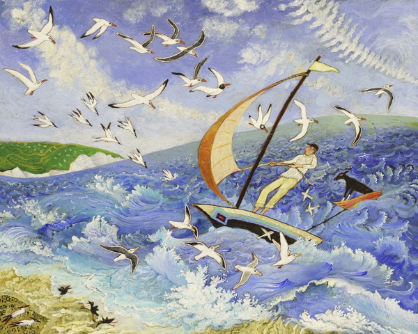 Anna Pugh, Wallace Goes To Sea, 2017
