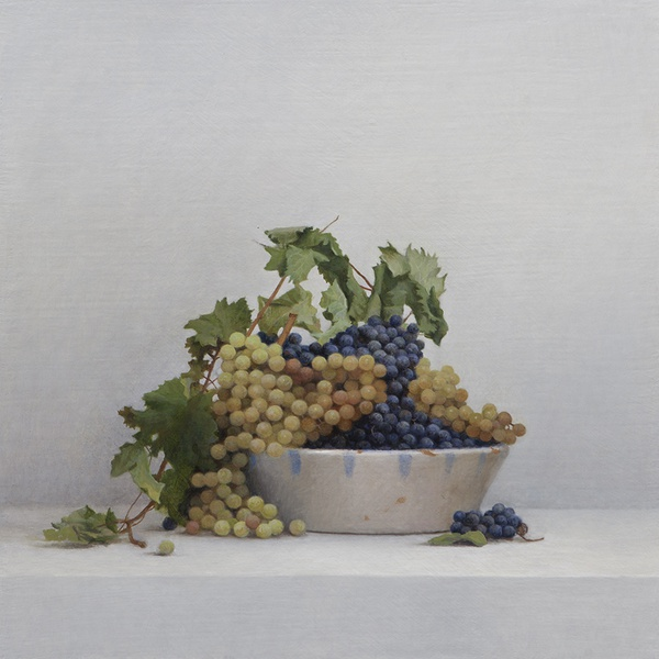 Guillermo Muñoz Vera - White and Black Grapes, 2015