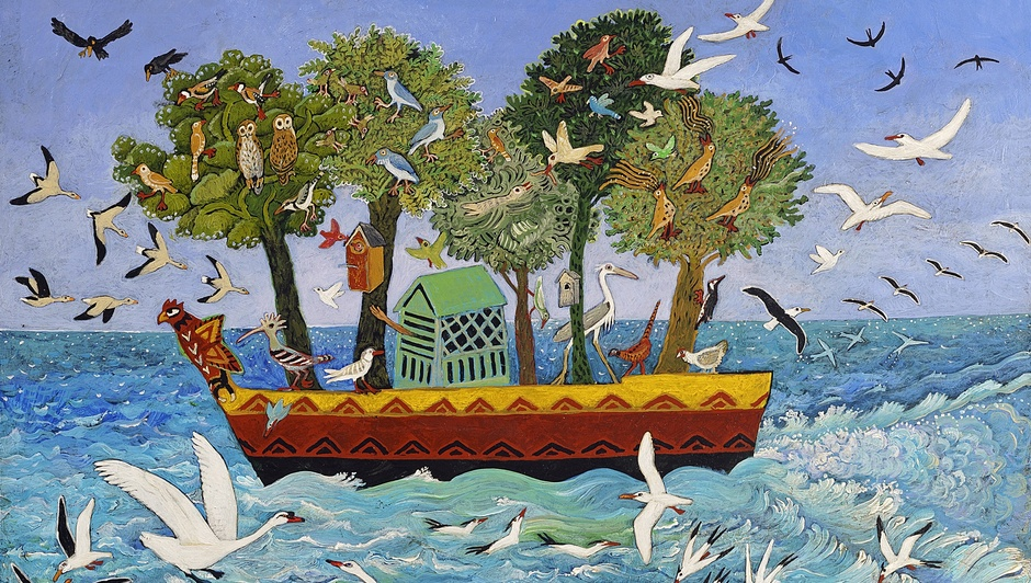 'Bird Ark' (Detail) by Anna Pugh, 2017